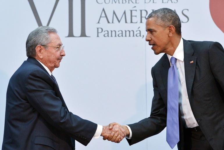 PANAMA-AMERICAS-SUMMIT-CUBA-US-OBAMA-CASTRO