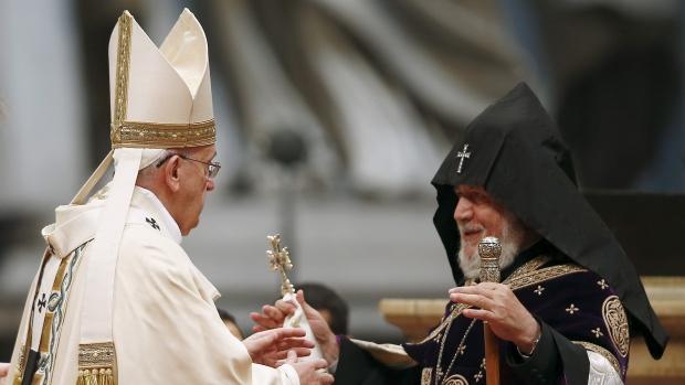 pope-armenia-genocide cbc.ca