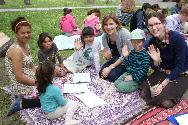Молодь за мир - свято з дітьми, Київ, Голосіївський парк